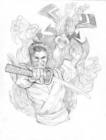 Samurai Jack WIP by BrettBarkley