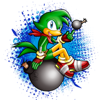 Bean the Dynamite Goes (Sonic) BOOM! by HavocGirl
