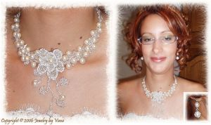 Iva's wedding jewelry by VanaJewelry
