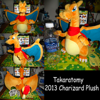 Epic Charizard Plush 2013 by kiraradaisuki