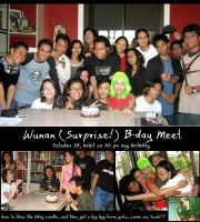Wunan Bday Surprise by daMEAT