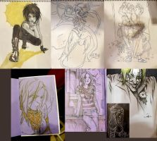 FanExpo sketches by ayanimeya