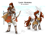 Lady Aurora, of the North by Lionel23