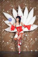 ahri cosplay by pentakill12