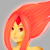 Flame Princess by Candycide