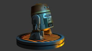 Star Wars Rebels - Chopper - 3dsmax by Sithjcull