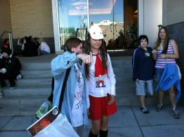 Kumoricon 2012~Ib and Pewdie by Wings101