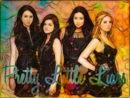 Pretty Little Liars Art by sidiator