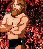WWE - Daniel Bryan by TheWolfMonster