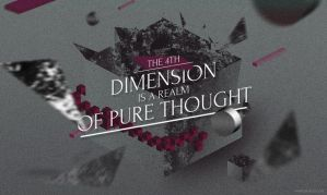 The 4th Dimension is a Realm of Pure Thought by vik-west