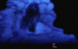 Mufasa in the Clouds by abiogenic