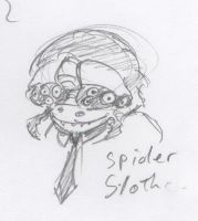 Animal Office - Spider Sloth by HJTHX1138