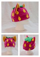 Strawberry Cat Hat by cutekick