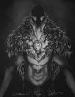 Devil Crow by rogueXunited