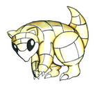 Sandshrew by murdokdracul