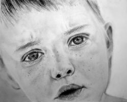 Freckled Baby by melisa-isik