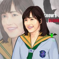 mayu watanabe 2016 cast crow's blood  by kalongart