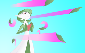 Gardevoir used Magical Leaf by beasert