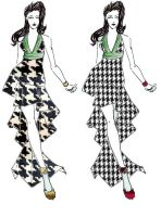Houndstooth Layers by HarajukuBoy86