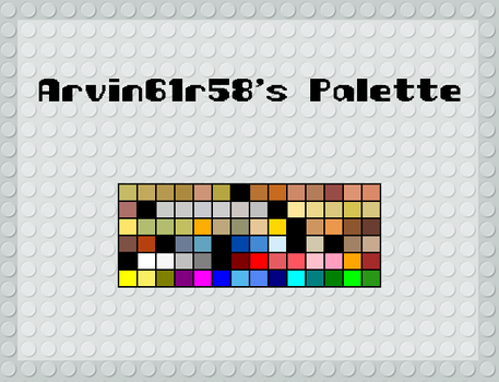 Arvin61r58's Palette by Arvin61R58