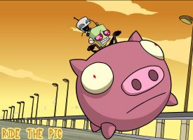 Ride The Pig by ShadowIceman