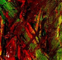 Abstract dark forest by HelaLe