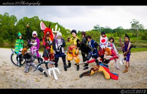 Sengoku Basara - The East and The West by nutcase23