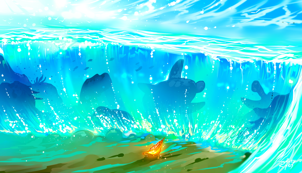 The Ocean Chose Me by ryky
