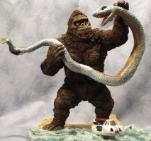 King Kong Escapes (Sea Serpent Scene) by Legrandzilla