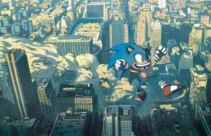Sonic by Bisart