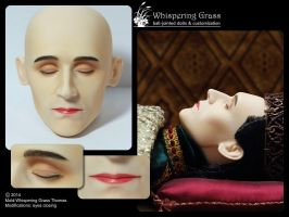 Whispering Grass Thomas faceup by scargeear
