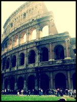The Coliseum in Rome by Chocolatewaffles659