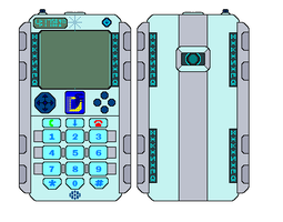 The D-Cell Digivice by AJ-Prime