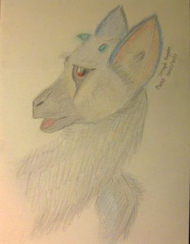 Trico Sketch  by Tank-Dragon2014