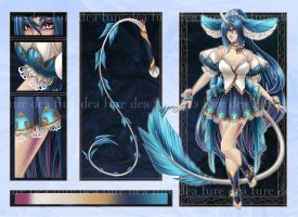Limited Edition Adopt: Water Lily Kirin by Dea-89