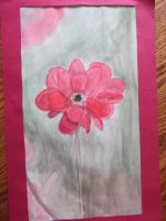 Red Flower by wittlecabbage