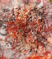 Abstract expressionisme V by DigitalHyperGFX