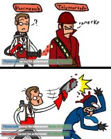 FYI I AM A MEDIC by MajorOcelot