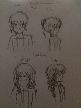 Random Character Sketches (Sophie ???) by Patowan