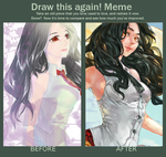 Draw This Again meme II by LaynaFeynreique