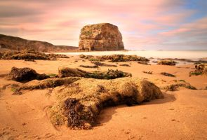 Marsden Bay Main Stack by CumbriaCam