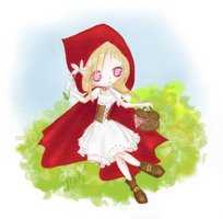 Little Red Riding Hood Chloe by Flurryfox