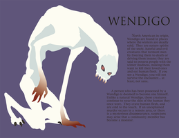 Wendigo by frigga