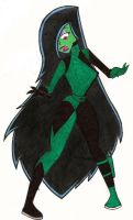 Ever wish to see Desiree in Shego's outfit? by ErosyXXI