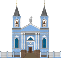 Kazan Catholic Church by Herbertrocha