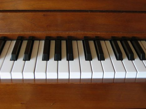 Piano keyboard 1 by incongruent-stock
