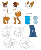 /FURSONA/ Frostbite reference Updated by Freeze-pop88