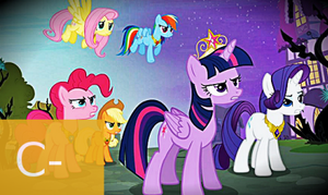 MLP FiM: S4 E1 - Princess Twilight Sparkle Review by Cuddlepug