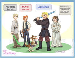 GO: Revenge of the Them by quantum-witch