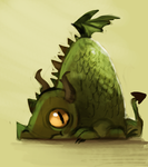DAY 174. WHATEVER (5 Minutes) by Cryptid-Creations